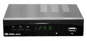 Цифровой эфирный ресивер DVB-T2 Oriel 314 D