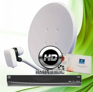 Комплект оборудования для установки и подключения НТВ+ HD с модуль НТВ+ HD и договором на 1200 руб