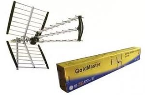 Антенна наружная эфирная DVB-T2 GoldMaster GM-500