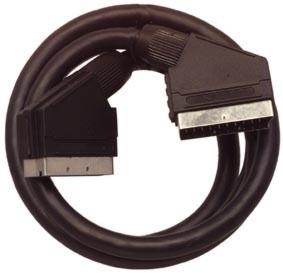 Кабель SCART вилка <--> SCART вилка, 21 pin, 1,5 м.