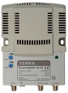 Эфирные усилители TERRA HA123
