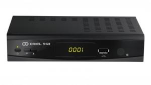 Цифровой эфирный ресивер DVB-T2 Oriel 963