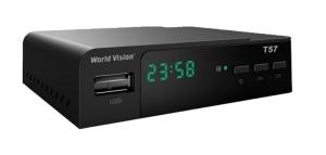 Цифровой эфирный DVB-T2 приемник World Vision T57