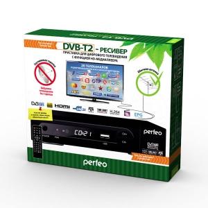 Цифровой эфирный приемникDVB-T2  PERFEO-168-1
