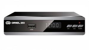 Цифровой эфирный ресивер DVB-T2 Oriel 120
