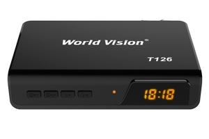 Цифровой эфирный ресивер DVB-T2 WORLD VISION T126