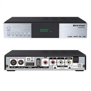 Цифровой эфирный и кабельный ресивер DVB-T2/ DVB-C WORLD VISION PREMIUM